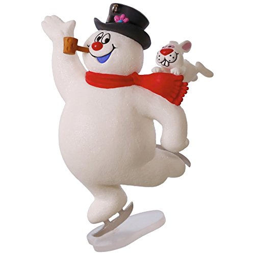 Hallmark Keepsake 2017 FROSTY THE SNOWMAN Look At Frosty Go! Christmas Ornament
