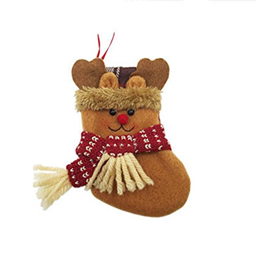 Zehui Christmas Stocking Holders Candy Bag Christmas Gift Bag Hanging Decor