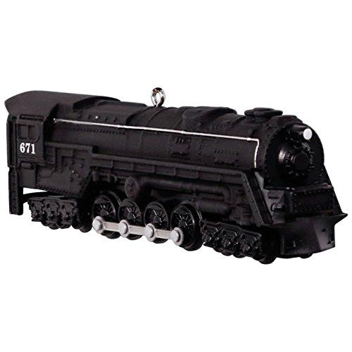 Hallmark Keepsake 2017 LIONEL Trains 671 S-2 Turbine Steam Locomotive Christmas Ornament