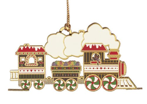 Baldwin Gingerbread Train  Ornament