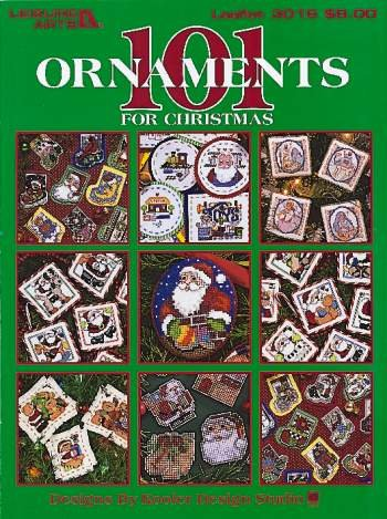 101 Ornaments For Christmas (Leisure Arts #3016)