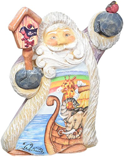 G. Debrekht Tiny Tale Illustrated Santa with Noah's Ark