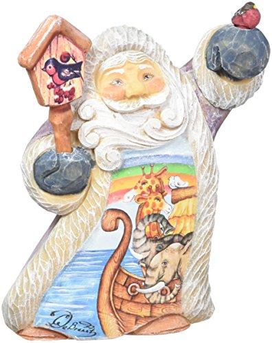 G. Debrekht Tiny Tale Illustrated Santa with Noah's Ark