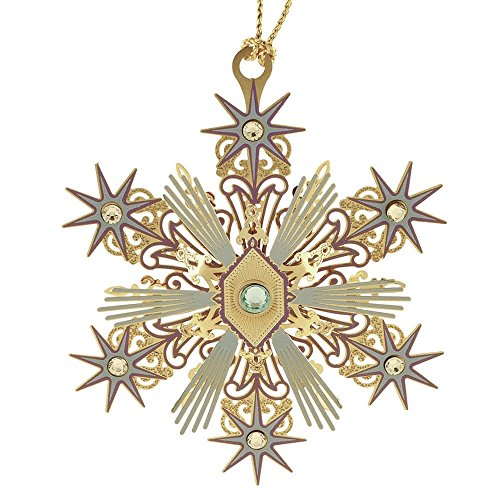 Beacon Design by ChemArt Joyous Snowflake Ornament