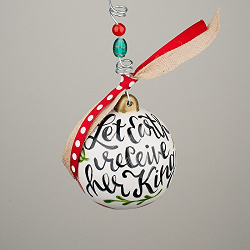 Glory Haus Let Earth Receive Her King Angel Ornament, Multicolor