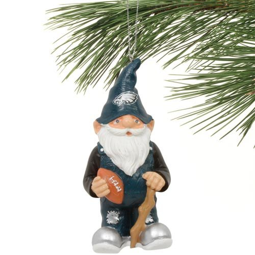 Philadelphia Eagles NFL Gnome Christmas Ornament