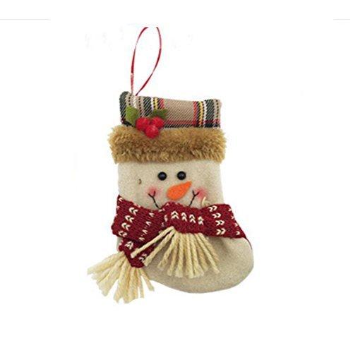 Zehui Christmas Stocking Holders Candy Bag Christmas Gift Bag Hanging Decor