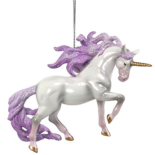 Enesco Trail of Painted Ponies Unicorn Magic Hanging Ornament, White