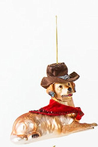 One Hundred 80 Degrees Dog Hanging Ornament (Retriever)