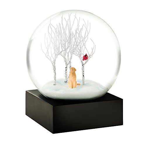 Lab in the Woods Cool Snow Globe by CoolSnowGlobes