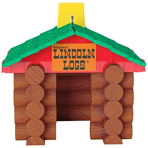 Hallmark Keepsake 2017 Hasbro LINCOLN LOGS Christmas Ornament