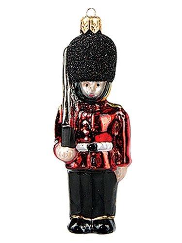 English Palace Guard Polish Mouth Blown Glass Christmas Ornament Decoration