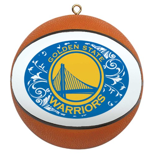NBA Golden State Warriors Mini Replica Basketball Ornament