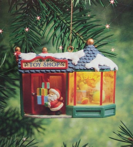 Carlton Cards 1994 Santa's Toy Shop Holiday Town Series #1