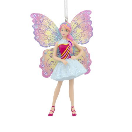 2017 Holiday Butterfly Barbie Christmas Ornament by Hallmark