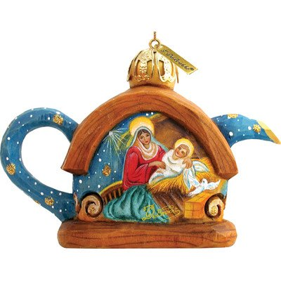 Nativity Teapot Ornament