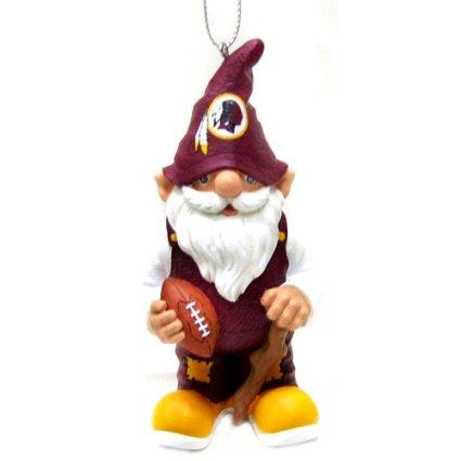 Washington Redskins NFL Gnome Christmas Ornament