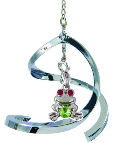 Propelling Spiral Ornaments – Frog