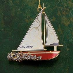 Baldwin Sloop Ornament