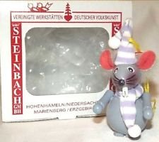 Z459 – Christmas Mouse – Steinbach Christmas Tree Ornament