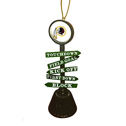 Team Sports America Washington Redskins NFL Fan Crossing Ornament