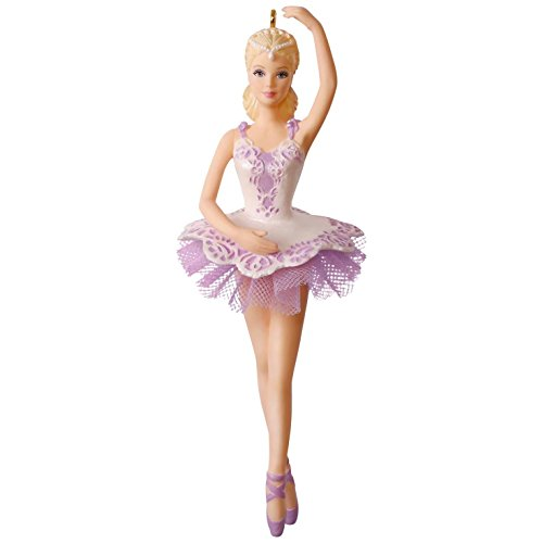 Hallmark Keepsake 2017 Ballet Wishes Barbie Christmas Ornament