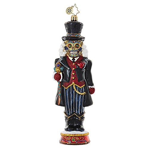 Christopher Radko Dia De Los Cracker Halloween Christmas Ornament