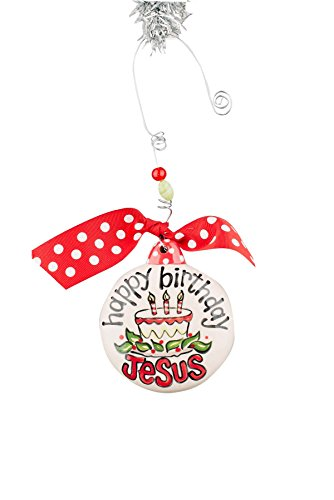 Glory Haus Happy Birthday Jesus Puff Ornament
