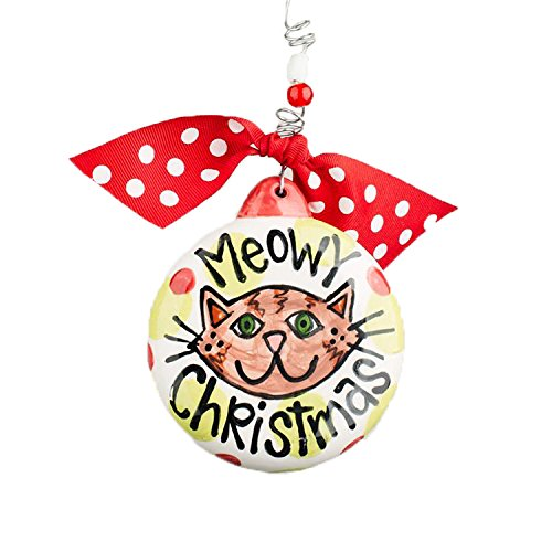 Glory Haus Meowy Christmas Puff Ornament
