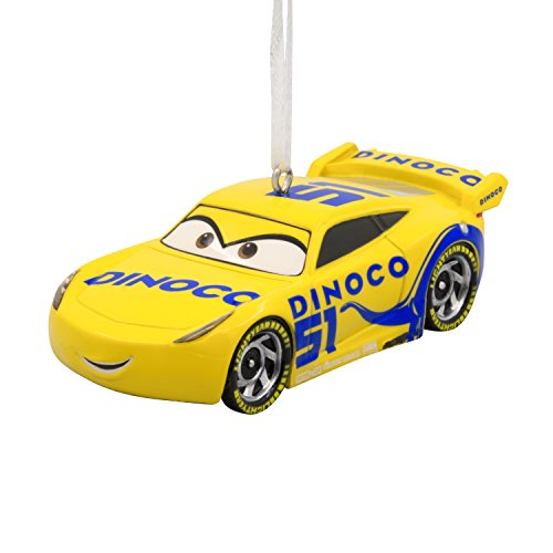 Hallmark Disney/Pixar Cars 3 Cruz Ramirez Christmas Ornament