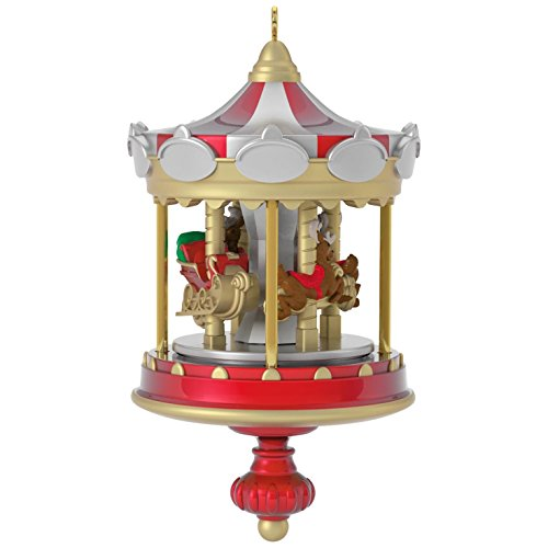 Hallmark Keepsake 2017 Christmas Carousel Mini Christmas Ornament
