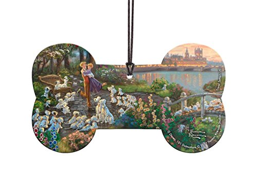 Disney 101 Dalmatians Bone Shaped Hanging Acrylic – Thomas Kinkade Art