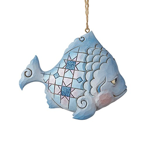 Enesco Jim Shore Heartwood Creek Fish Ornament