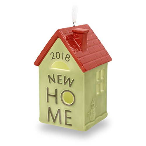 Hallmark Keepsake 2018 New Home Year Dated Ceramic Christmas Ornament