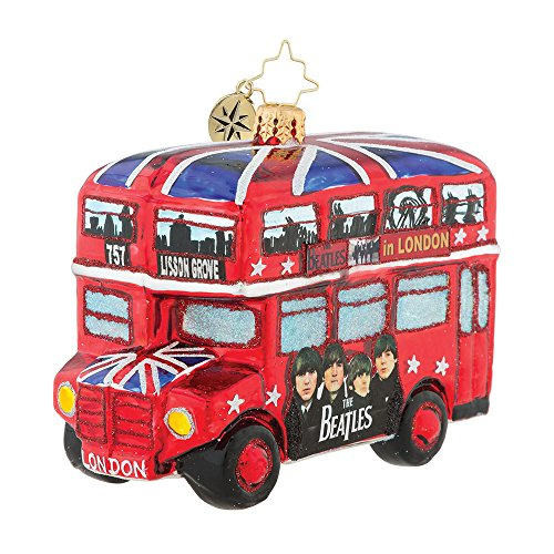 Christopher Radko The British Invasion Christmas Ornament