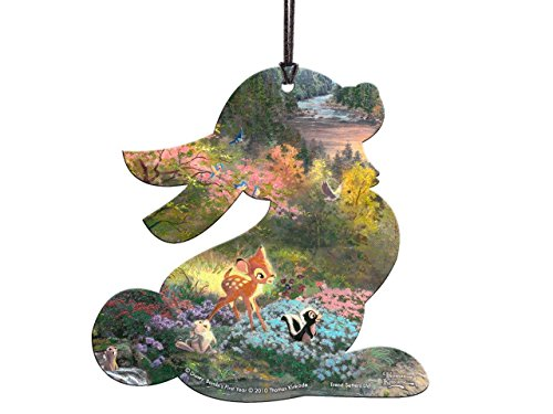 Disney Bambi Thumper Shaped Hanging Acrylic – Thomas Kinkade Art