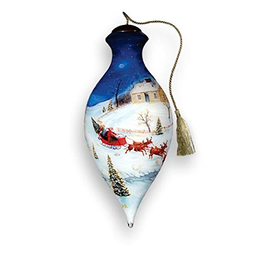 Ne'Qwa Ne'Qwa – Dash All The Way – Hand-Painted Ornament Decoration Gift 185-SA-JH-NQ