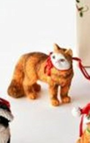 One Hundred 80 Degrees Cat Ornament with Coordinated Bag (Standing os)