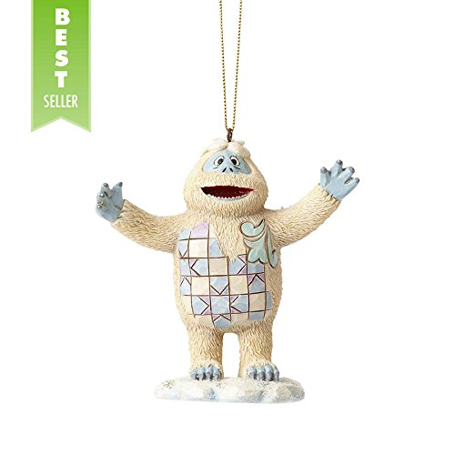 "Jim Shore ""Rudolph the Red-Nosed Reindeer"" Traditions, Bumble Stone Resin Hanging Ornament, 3.8″"