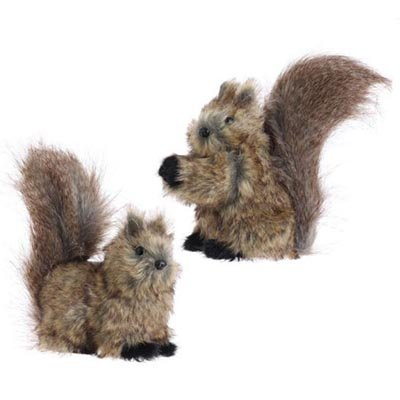 Raz Imports Forest Frost 7.5″ Squirrel Pair