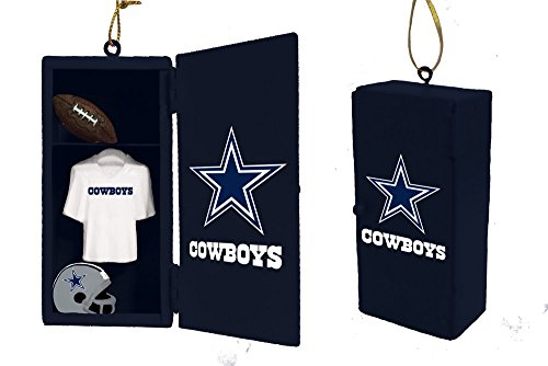 Team Sports America Dallas Cowboys Team Locker Ornament
