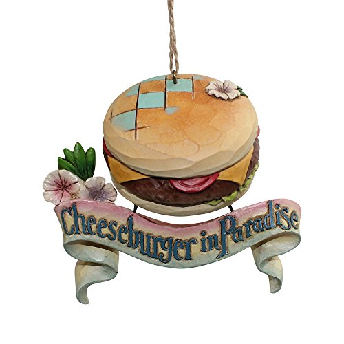 Enesco Margaritaville by Jim Shore Cheeseburger Paradise Ornament