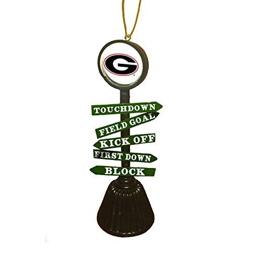 Team Sports America University of Georgia Fan Crossing Ornament