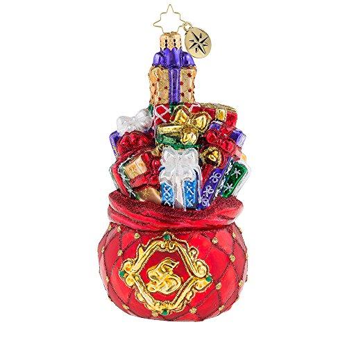 Christopher Radko Suave Insignia Christmas Ornament