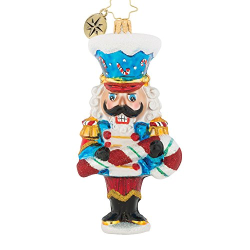 Christopher Radko Candy Cane Caper Christmas Ornament