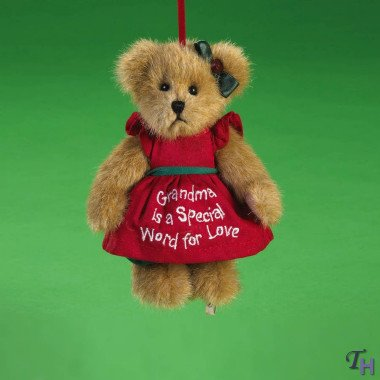 "Boyds Bear Ornament ""Grandma"" – Lil Gammy"