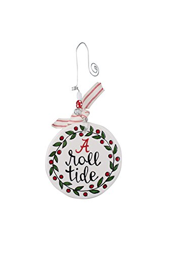 Glory Haus Alabama Flat Ornament, Multicolor