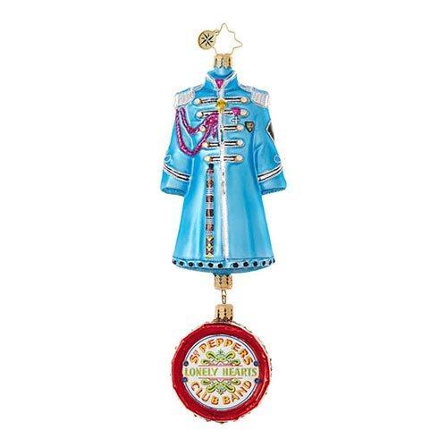 Christopher Radko Paul McCartney's Sgt. Pepper's Coat The Beatles Christmas Ornament