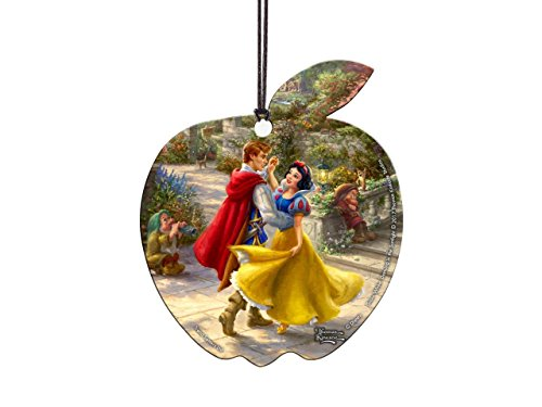 Disney – Snow White – Thomas Kinkade – Hanging Acrylic Decoration – Light Catcher Sun Catcher Collectible