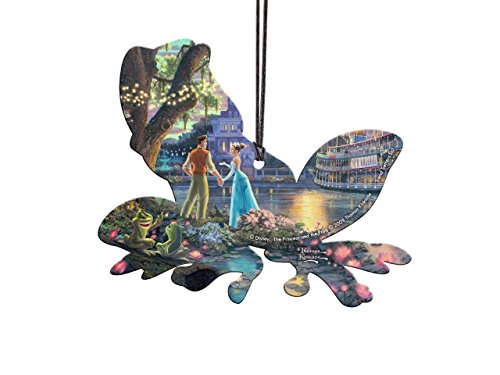 Disney The Princess and the Frog Shaped Hanging Acrylic – Thomas Kinkade Art